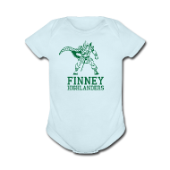 Baby & Toddler Shirts ~ Baby Short Sleeve One Piece ~ Finney High