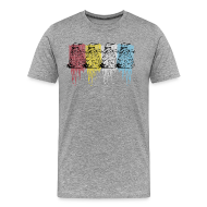 T-Shirts ~ Men's Premium T-Shirt ~ color dalek by kam