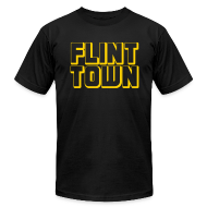 T-Shirts ~ Men's T-Shirt by American Apparel ~ Flint Town