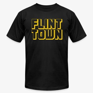 Flint Town - Men's T-Shirt by American Apparel