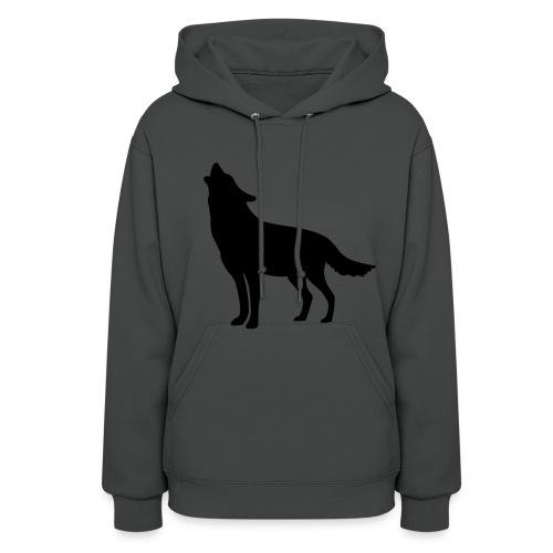Women's Wolf Hooded Sweatshirt - Women's Hoodie