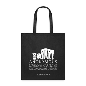 Anonymous 2 - White - Tote Bag