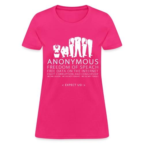 Anonymous 2 - White - Women's T-Shirt