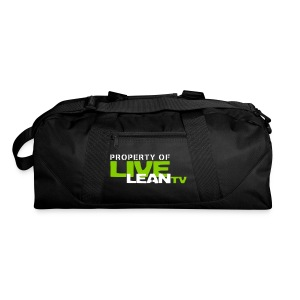 Property of Live Lean TV Gym Bag - Duffel Bag