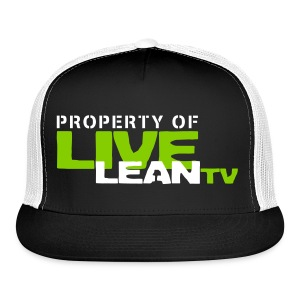 Live Lean TV Hat - Trucker Cap