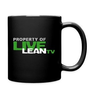 Property of Live Lean TV Coffee Mug - Full Color Mug