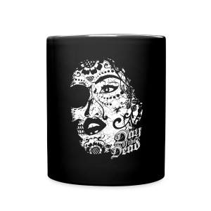 Sugar Lady - Day of the Dead - Full Color Mug