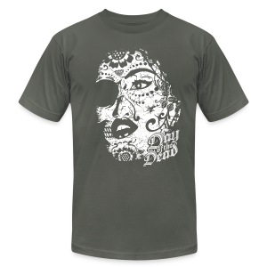 Sugar Lady - Day of the Dead - Men's T-Shirt by American Apparel