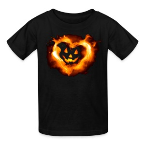 Halloween Heart - Kids' T-Shirt