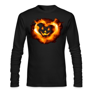 Halloween Heart - Men's Long Sleeve T-Shirt by Next Level