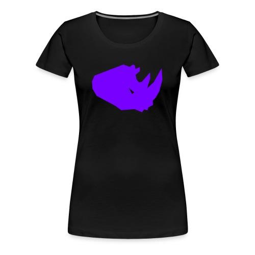 RiNO Shirt Purple Logo - Women's Premium T-Shirt