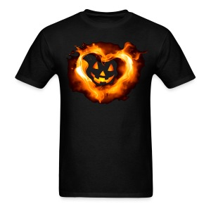 Halloween Heart - Men's T-Shirt