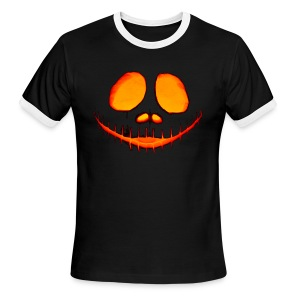 Halloween Pumpkin - Men's Ringer T-Shirt