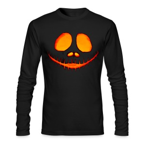 Halloween Pumpkin - Men's Long Sleeve T-Shirt by Next Level