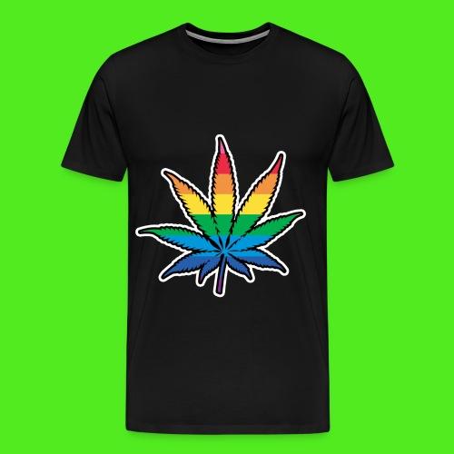 Weed leaf - Men's Premium T-Shirt
