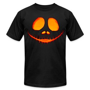 Halloween Pumpkin - Men's T-Shirt by American Apparel