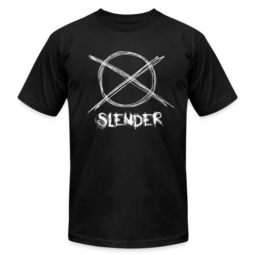 Slender Man - Sign - Men's Fine Jersey T-Shirt