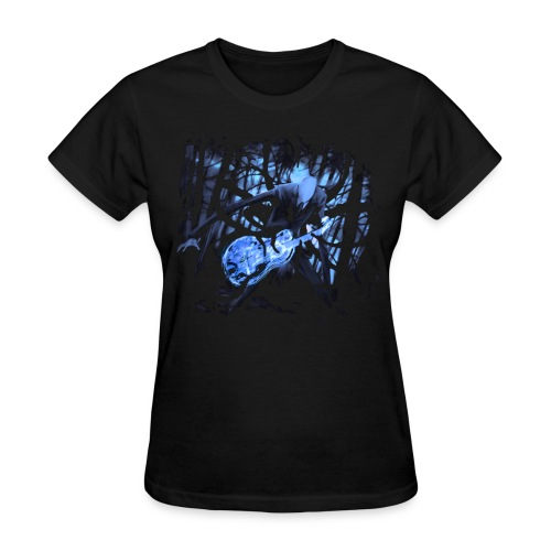 Slender Guitar 2 - Women's T-Shirt
