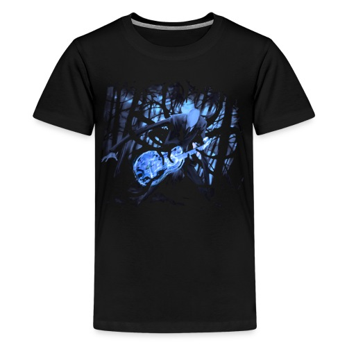 Slender Guitar 2 - Kids' Premium T-Shirt