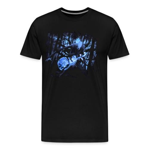 Slender Guitar 2 - Men's Premium T-Shirt