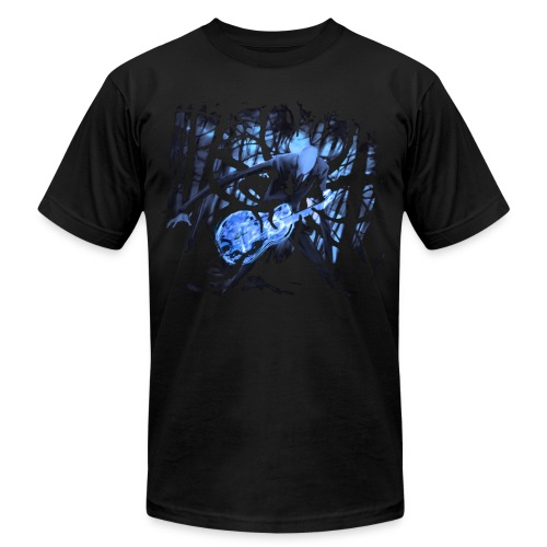 Slender Guitar 2 - Men's Fine Jersey T-Shirt