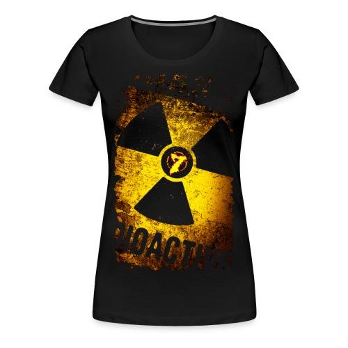 Radioactive - Women's Premium T-Shirt