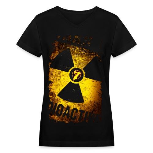 Radioactive - Women's V-Neck T-Shirt
