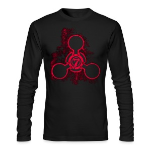Crop Circle - Men's Long Sleeve T-Shirt by Next Level