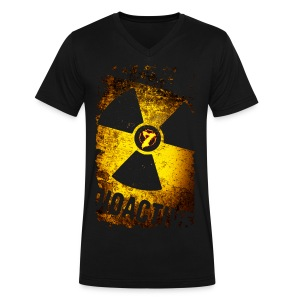 Radioactive - Men's V-Neck T-Shirt by Canvas