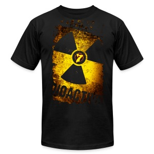 Radioactive - Men's T-Shirt by American Apparel