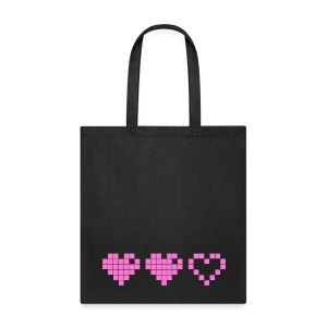 2 Lives Left - Pink - Tote Bag