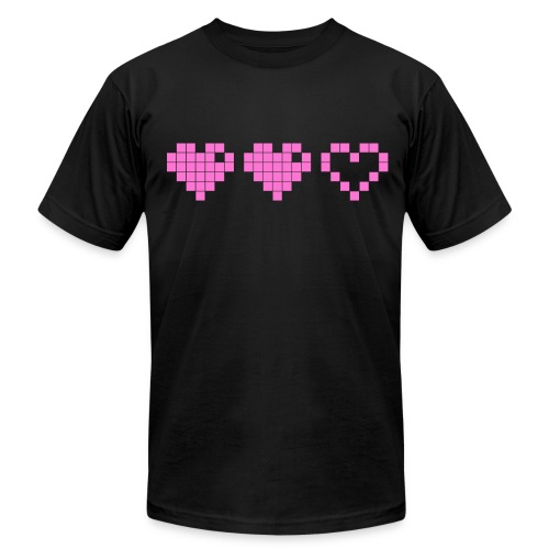 2 Lives Left - Pink - Men's Fine Jersey T-Shirt