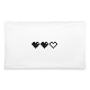 2 Lives Left - Black - Pillowcase