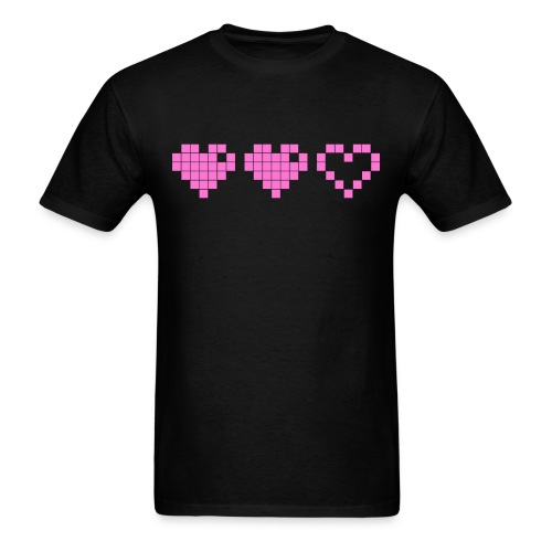 2 Lives Left - Pink - Men's T-Shirt