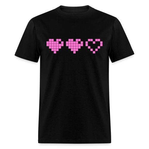 2 Lives Left - Pink - Men's T-Shirt