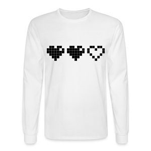 2 Lives Left - Black - Men's Long Sleeve T-Shirt