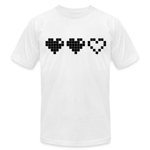 2 Lives Left - Black - Men's Fine Jersey T-Shirt