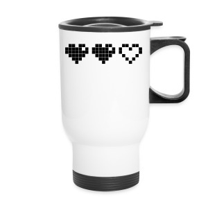 2 Lives Left - Black - Travel Mug