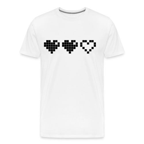2 Lives Left - Black - Men's Premium T-Shirt