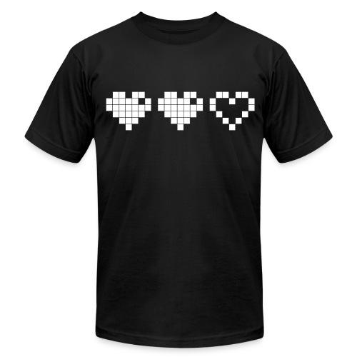 2 Lives Left - White - Men's Fine Jersey T-Shirt