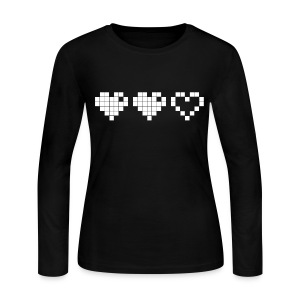 2 Lives Left - White - Women's Long Sleeve Jersey T-Shirt