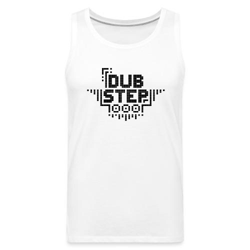 DUBSTEP Pixels - Black - Men's Premium Tank
