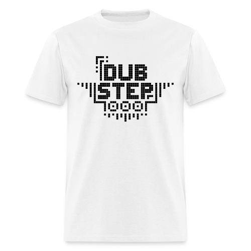 DUBSTEP Pixels - Black - Men's T-Shirt