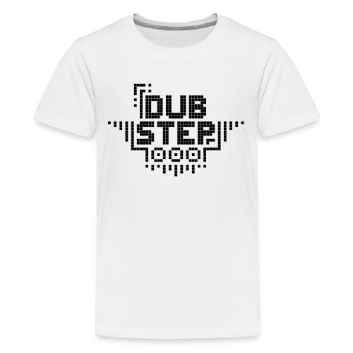 DUBSTEP Pixels - Black - Kids' Premium T-Shirt