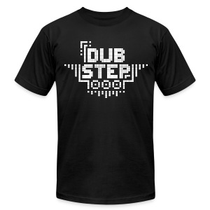 DUBSTEP Pixels - White - Men's T-Shirt by American Apparel
