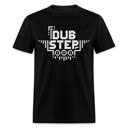 DUBSTEP Pixels - White - Men's T-Shirt