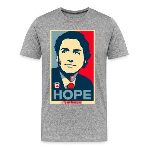 Justin Trudeau brings Hope - Men's Premium T-Shirt