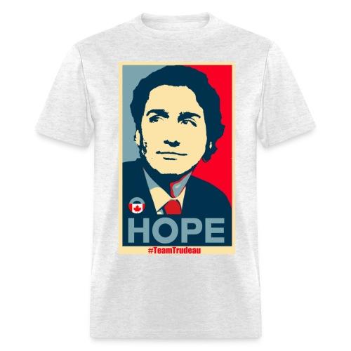Justin Trudeau brings Hope - Men's T-Shirt