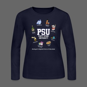 Party Store University - Women's Long Sleeve Jersey T-Shirt