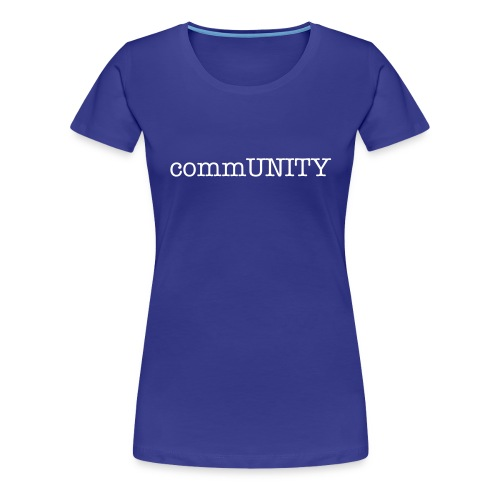 women's commUNITY t-shirt - Women's Premium T-Shirt